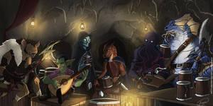 The monster team by Ioana-Muresan