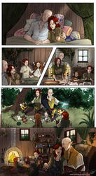 Commission -the family by Ioana-Muresan