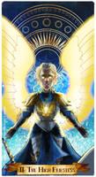 II- The High Priestess by Ioana-Muresan
