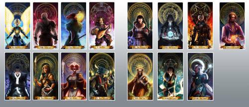The cards so far by Ioana-Muresan