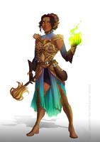 Commission -Druid by Ioana-Muresan