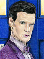 11th Doctor by Karenscarlet