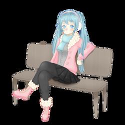 Chilly Miku by Aonani10