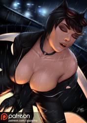 Catwoman - Rain by YuPaChu