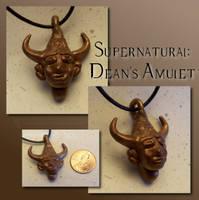Supernatural: Dean's amulet by Hedgehogscanfly