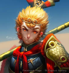 Sun Wu Kong S by StCygnus