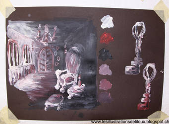 Sets of Bluebeard by Liloux-illustration