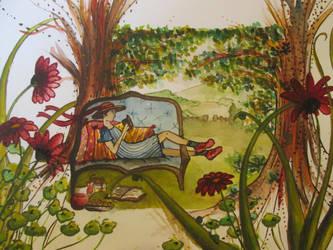 Love Shoes, writen by Pierre Gripari by Liloux-illustration