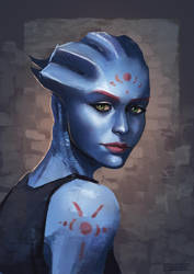 Asari by Fridsiee