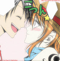 Luffy x Nami by Koyuki1401