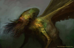 Lovecraft I by Paintagram