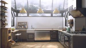 Kitchen by djreko