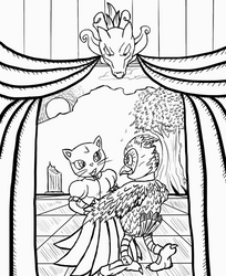 The Owl and the Pussy Cat by DoubleDandE