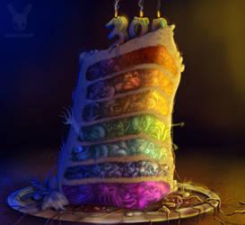Seven Deadly Sins Cake by DoubleDandE