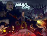 Ash VS Evil Dead (Collab) by DoubleDandE