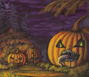 Pumpkin Patch by DoubleDandE