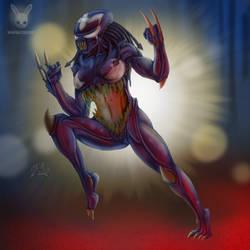 Predator Symbiote by DoubleDandE