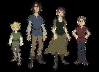 Dia - Main cast by charlottevevers