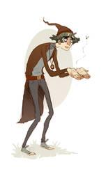 Wizard Nerd by charlottevevers