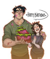 Happy Birthday, Meg!! by charlottevevers