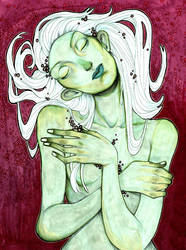 The Green Lady Sleeps by charlottevevers