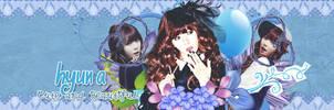 Cover Zing - Hyun A by rankagome52