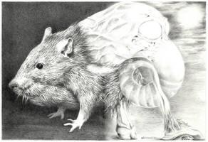 Little Beast or RATatouille by Bernardumaine