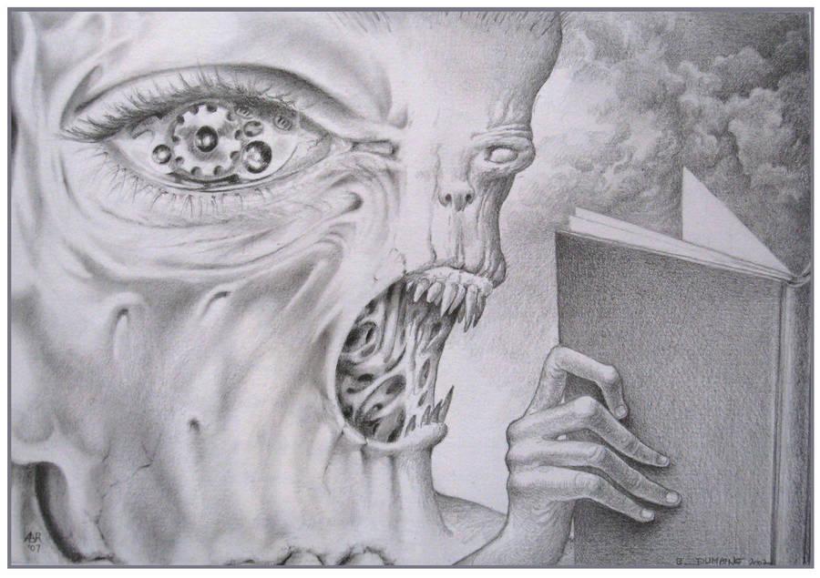 Book devourer by Bernardumaine