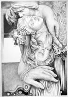 Doux baiser by Bernardumaine