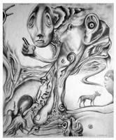 The octopus by Bernardumaine