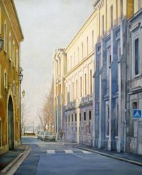 Urban landscape 1 by Bernardumaine