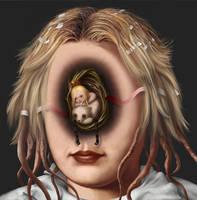 Head like a hole by Bernardumaine