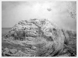 Wait and sea by Bernardumaine