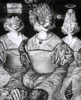 Sewing ladies in bondage dreams by Bernardumaine