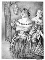 The midwife by Bernardumaine