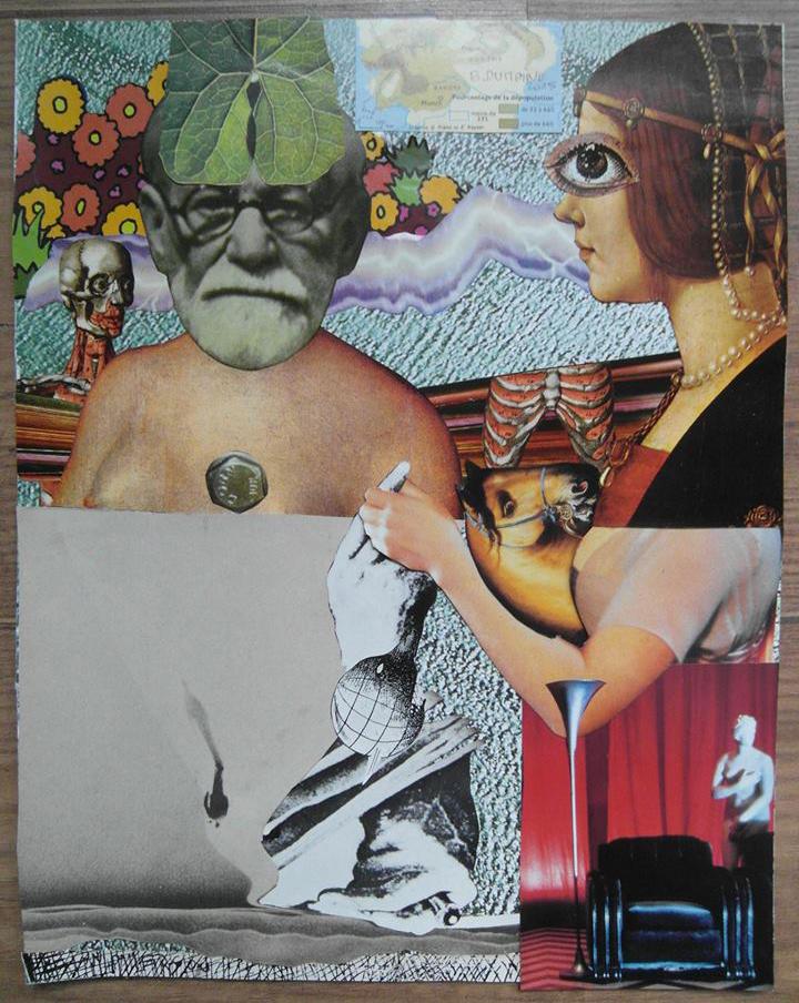 Freud's thumb by Bernardumaine