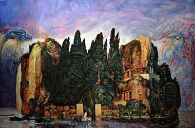 Bocklin Revisited by Bernardumaine