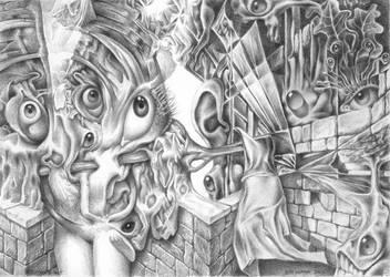 Vestibule of senses by Bernardumaine