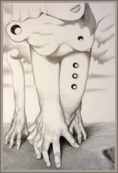 Les mains balladeuses by Bernardumaine