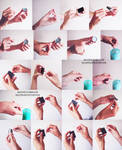 Hands reference 2 - candles and machsticks by Sellenin
