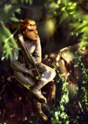 Jungle by Sellenin