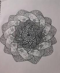 Doodle flower by ItzStardust