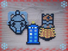 Christmas Ornaments- Doctor Who by Dogtorwho