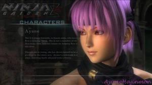 Character: Ayane by AyaneHajinmon