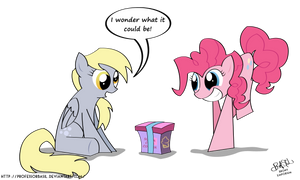 Mystery Gift by ProfessorBasil