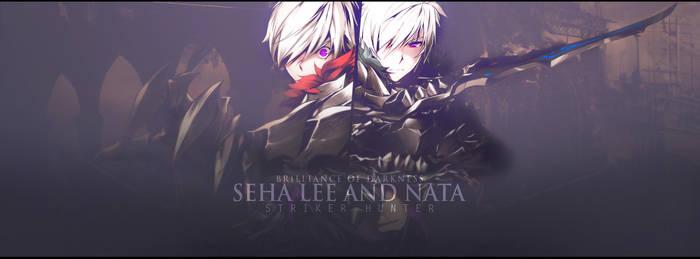 Seha Lee and Nata by AKurniawanN