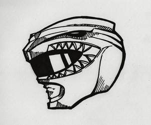 Green Ranger Helmet by Windam