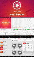 Poweramp Suru Skin by aleontev