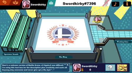 Super Smash Bros Ultimate: Battle Arena by StarWarriorJian