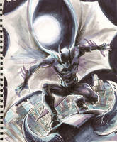 Sketch 05 : The Batman by Cinar